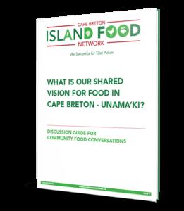 Cape Breton Island Food Network Community Food Conversation Toolkit Book Cover